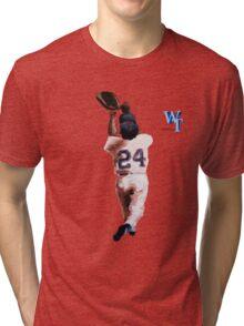 Willie Mays Tri-blend T-Shirt
