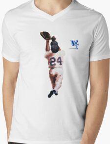 Willie Mays Mens V-Neck T-Shirt
