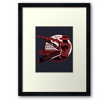 Furiosa Motor Oil Framed Print