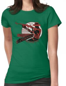 Furiosa Motor Oil Womens Fitted T-Shirt