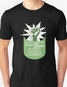 I once took a solemn Oath to defend the Constitution against all enemies, Foreign and Domestic #9100136 T-Shirt