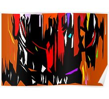 Abstract Degree in Color Poster