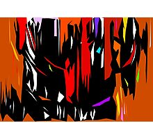 Abstract Degree in Color Photographic Print