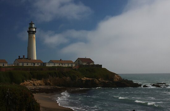 Pigeon Point Lighthouse by Barbara  Brown