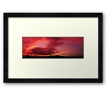 ©Red Sky II Framed Print