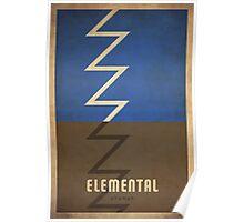 Elemental Shaman - WoW Minimalism Poster
