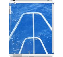 Sailboat bow view of Water iPad Case/Skin