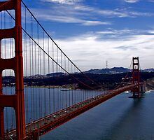 golden gate bridge 2 by Ted Petrovits