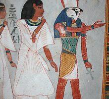 Egyptian artwork by Rebecca Conroy