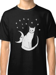 Moon Cat T-Shirt  Classic T-Shirt