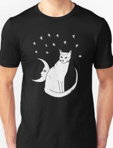 Moon Cat T-Shirt  T-Shirt