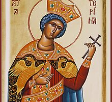 St Katherine the Great Martyr by ikonographics