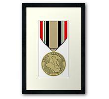 Iraq Campaign Framed Print
