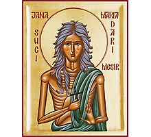St Mary of Egypt Photographic Print