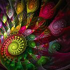 WILD PSYCHEDELIC PEACOCK by 1arcticfox