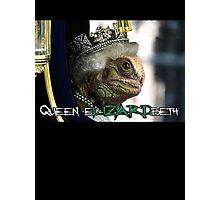 Queen Elizardbeth Photographic Print