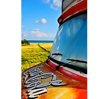 Coca Cola Van Photographic Print