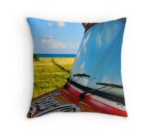 Coca Cola Van Throw Pillow