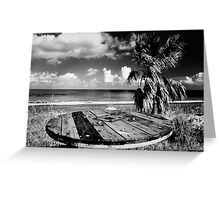 Cyprus Beach Bar Greeting Card