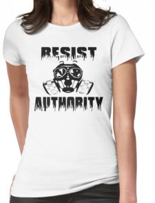 Resist Authority Womens Fitted T-Shirt