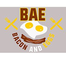 BAE - Bacon And Eggs Photographic Print