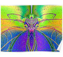 Fractal Insect Poster