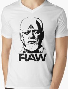 RAW - Robert Anton WIlson Mens V-Neck T-Shirt