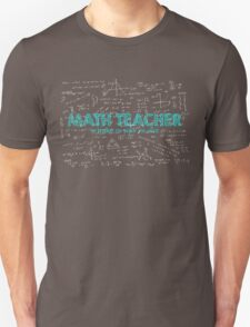 Math Teacher (no problem too big or too small) Unisex T-Shirt