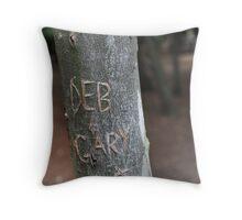 Deb & Gary Throw Pillow