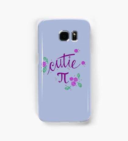 Cutie Pi (Purple) Samsung Galaxy Case/Skin