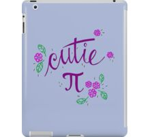 Cutie Pi (Purple) iPad Case/Skin