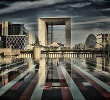 La Défense at Paris. by cocoon