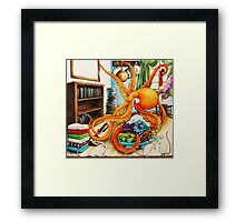 Odd Sock Sid Framed Print