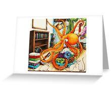 Odd Sock Sid Greeting Card