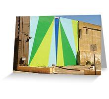City Art - In Progress Greeting Card