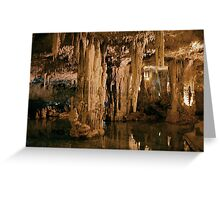 Neptune Cave Greeting Card