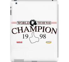 Thumb War iPad Case/Skin