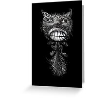 Frazzled Cat Greeting Card
