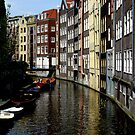 TYPICAL AMSTERDAM CANAL by Alateia