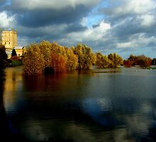 Tewkesbury Abbey, Gloucestershire, England by Lynn Ede