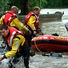 Rescue Workers by Lynn Ede