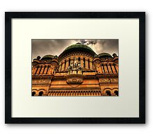 The Queen - QVB,Sydney - The HDR Experience Framed Print