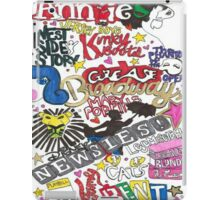 Broadway Shows collage iPad Case/Skin