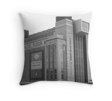 Baltic Flour Mill Throw Pillow