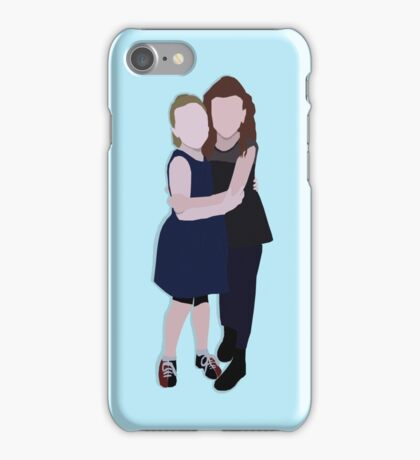 Brooklyn Shuck and Fina Strazza at Matilda's 2 Years on Broadway Celebration iPhone Case/Skin