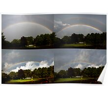 Morning Rainbow Progression Poster
