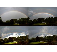 Morning Rainbow Progression Photographic Print