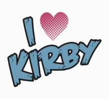 I heart KIRBY by Scott Simpson