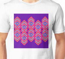 Squared Purple Unisex T-Shirt