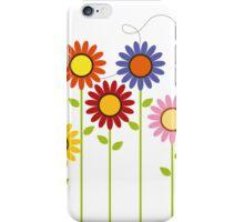 Colorful Garden iPhone Case/Skin